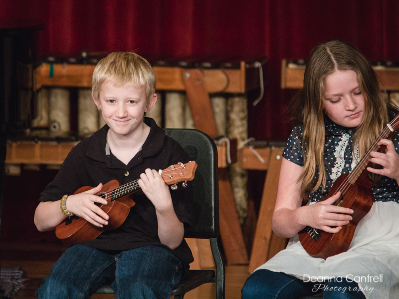 Fall Showcase with ukuleles