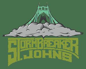 St. Johns StormBreaker logo