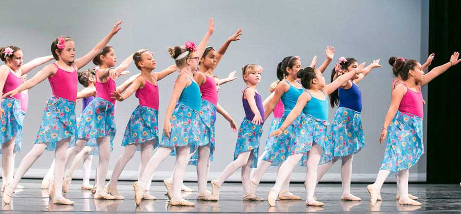 Aspire Project ballet students