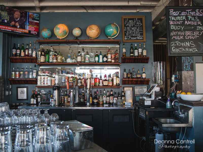 The bar at Leisure Public House