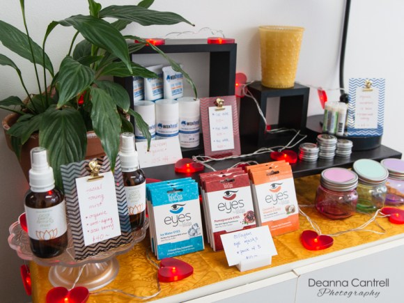 beauty products for sale at esthibar