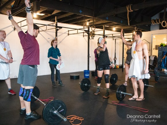 Crossfit Blue House indoor class