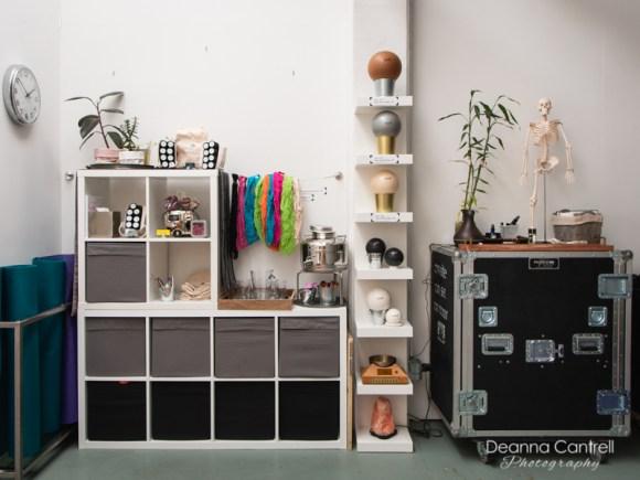 The studio at Tension Tamer