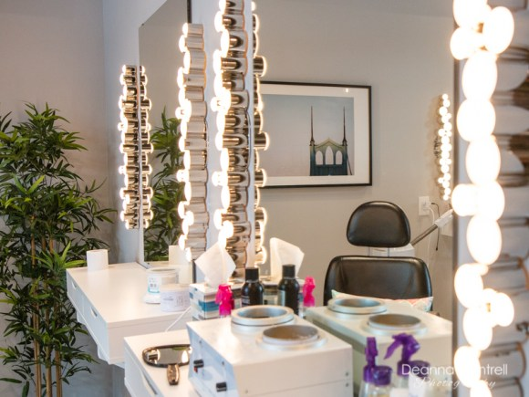 Pampered Orchid beauty bar