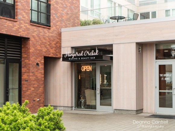 Entrance to Pampered Orchid