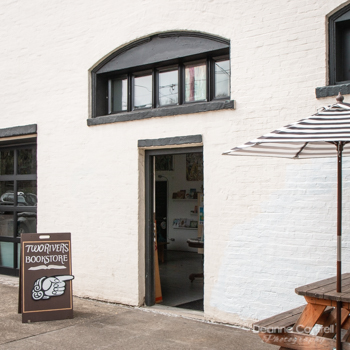 Two Rivers Bookstore Entrance