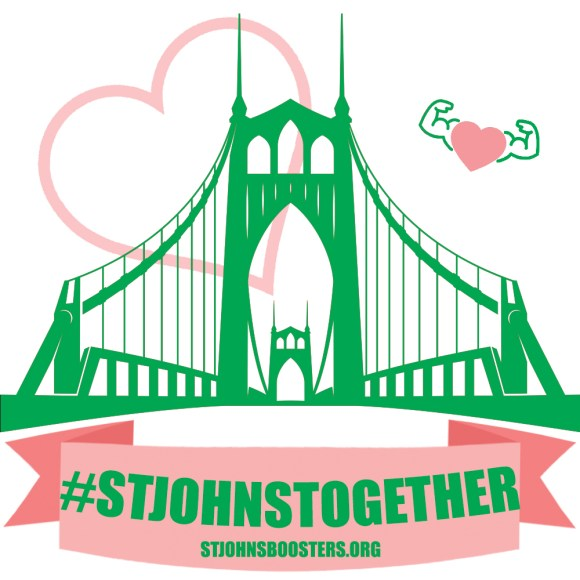 #stjohnstogether graphic by the Wayfinding Academy