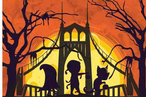Halloween Scavenger Hunt Poster