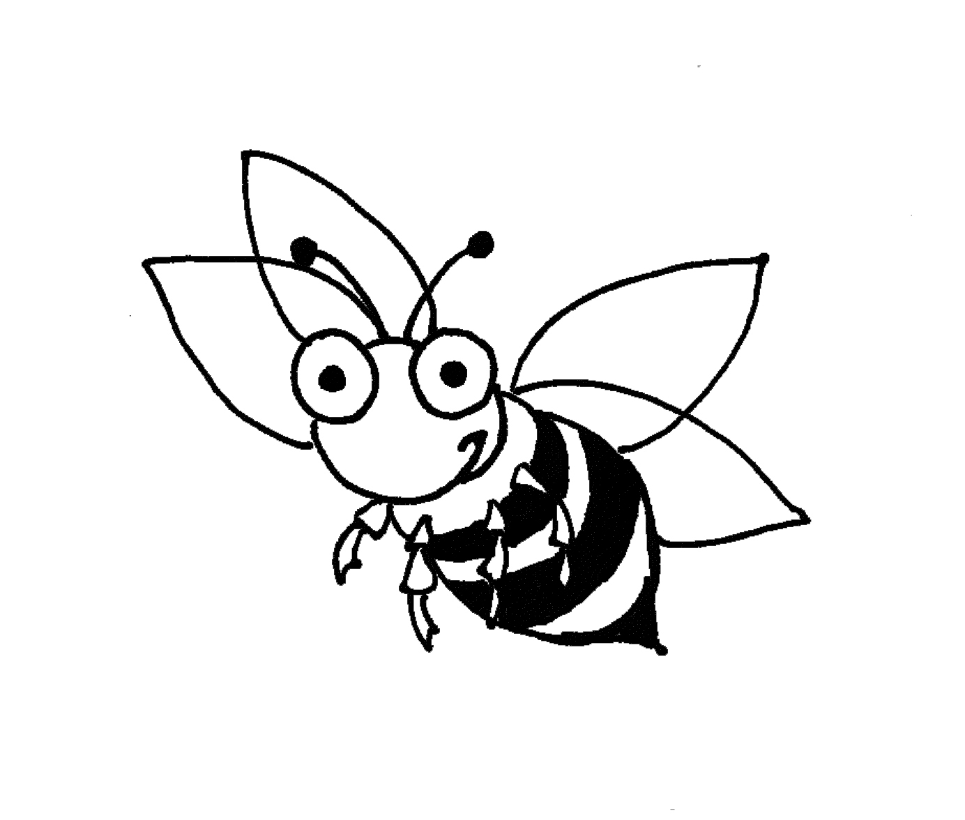 bumble bee coloring page coloring pages amp pictures imagixs