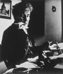 A portrait of Robert Graves by Bill Brandt