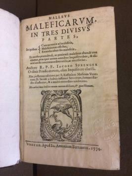 Malleus Title Page