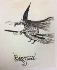 An illustration of Badjelly the Witch