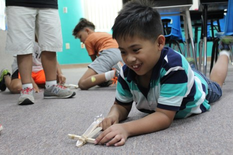 Students' natural interests blossom through STEM activities.