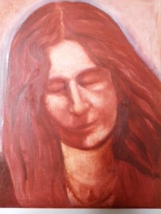 Meg, Oil on canvas 50x40 cm