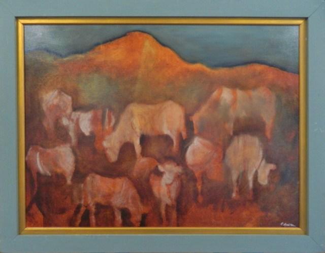 Original oil painting copyright Reyna Rushton