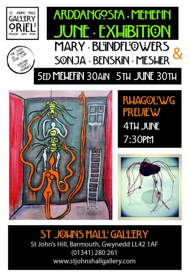 Preview 4th June, Exhibition 5th - 30th June