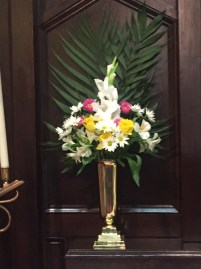 flowers for Palm Sunday