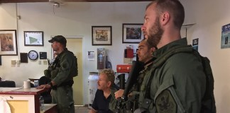 A security team from the National Forest Service is on St. John to help the recovery effort.