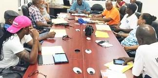 Gov. Kenneth Mapp meets with senators Saturday on St.Thomas,