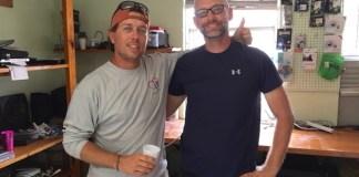 Matt Gyuraki and Jason Monigold: 'It's community helping community,' Gyuraki said of the collaborative effort.