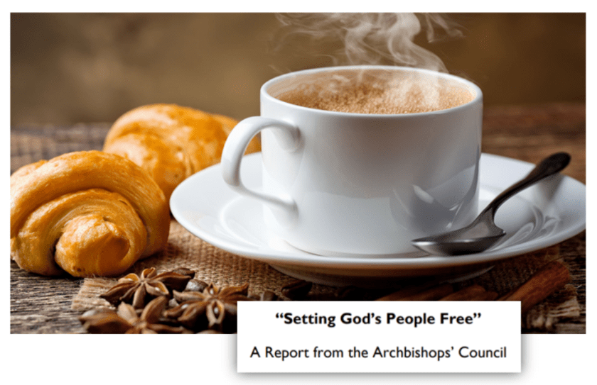 setting God's people free cafe church