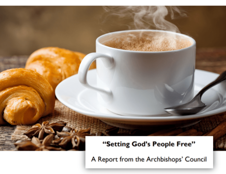 Cafe Church & Setting God's people free