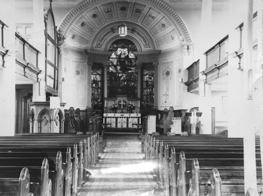 History - old St John's church