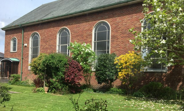 st john's church and hall garden
