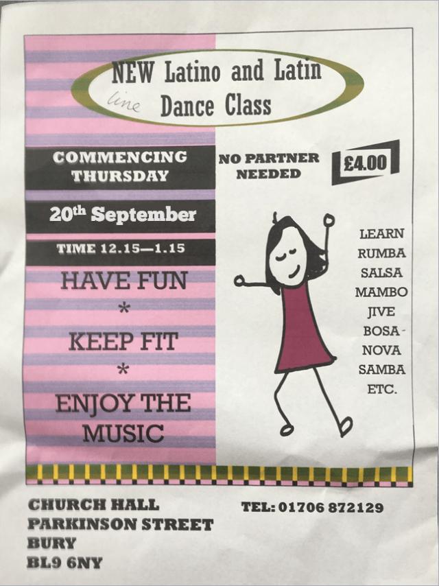 New dance class