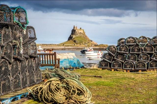 Holy Island walk - Lindisfarne walk - Northumberland walks