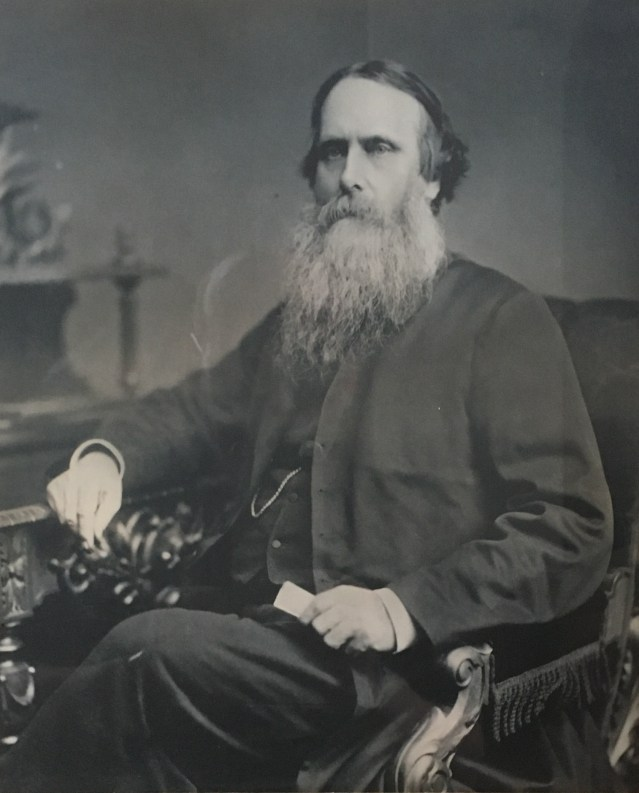 reverend edmund smith - with a fine looking beard