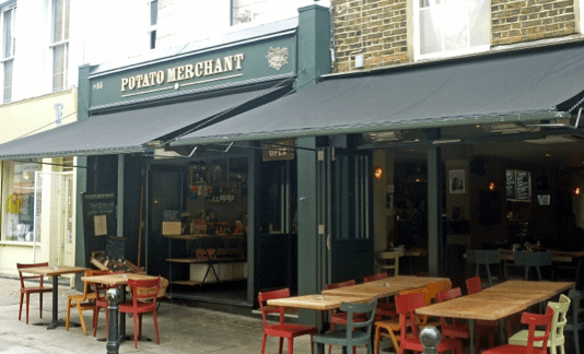 The Potato Merchant at Exmouth Market © Homegirl London