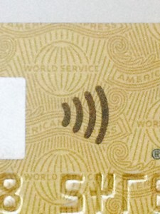 Any card with the above sign can be used as a contactless payment card
