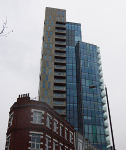 The Avantgarde Tower in Shoreditch