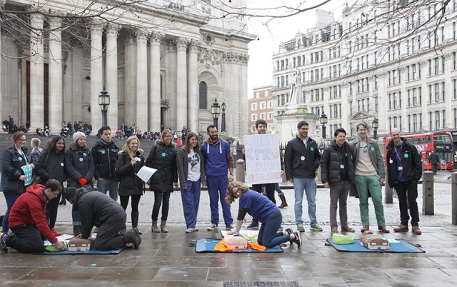 Junior Doctors are already overwhelmed by the five day schedule which leaves them concerned about how they would cope with the new seven day contract. Photo credit: Valerie Browne.