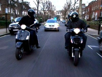 Islington and Hackney amongst the worst hit areas of moped gang related robberies