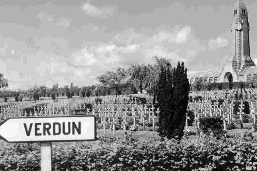 Voyage à Verdun 7/8 mai