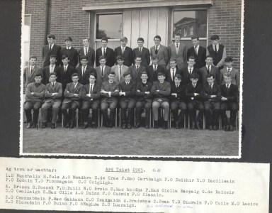 Class photograph 1965 B