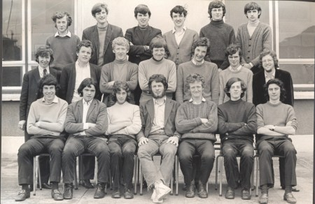 Leaving Cert Class of 1971 6C