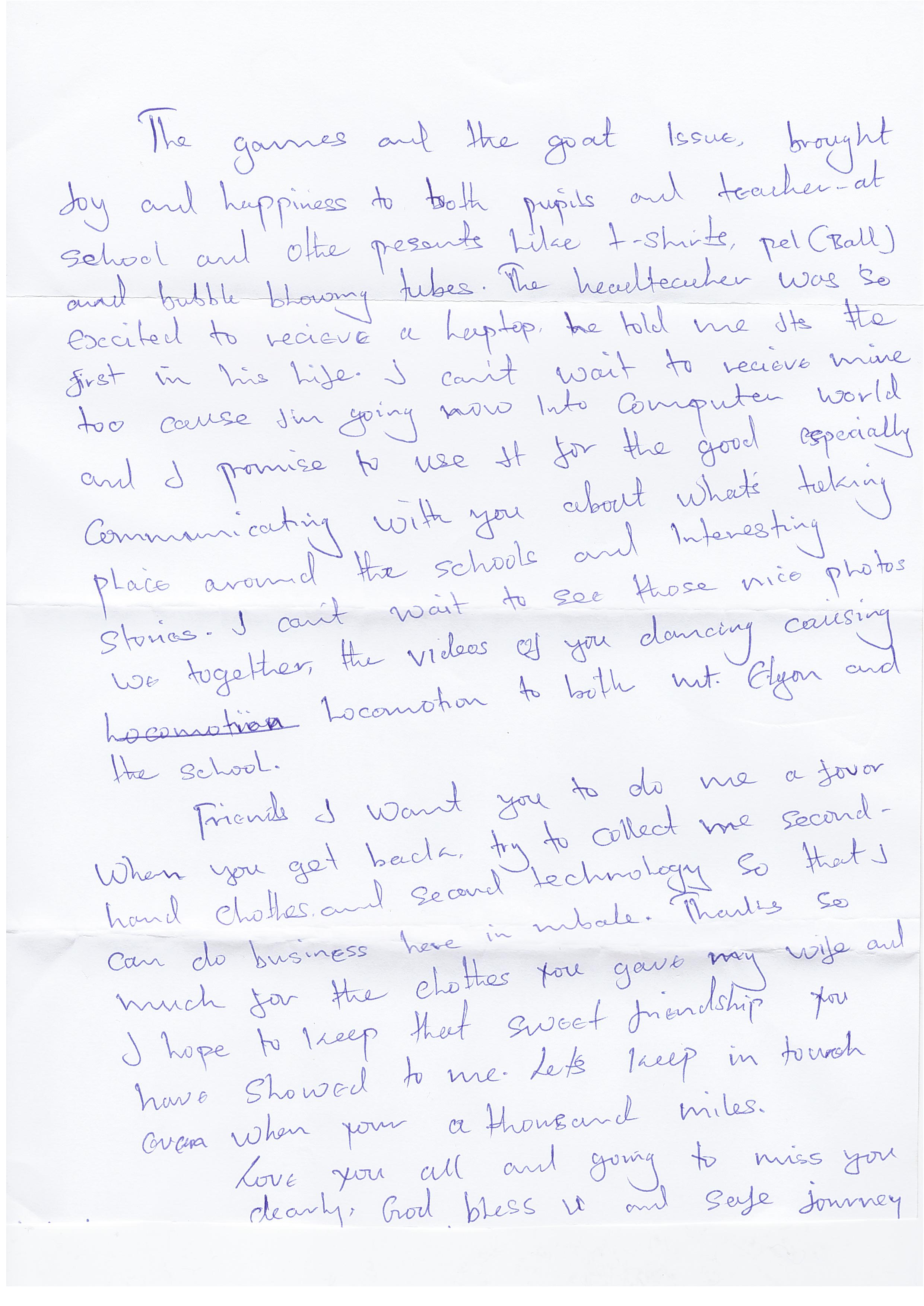 Josephs Letter 2