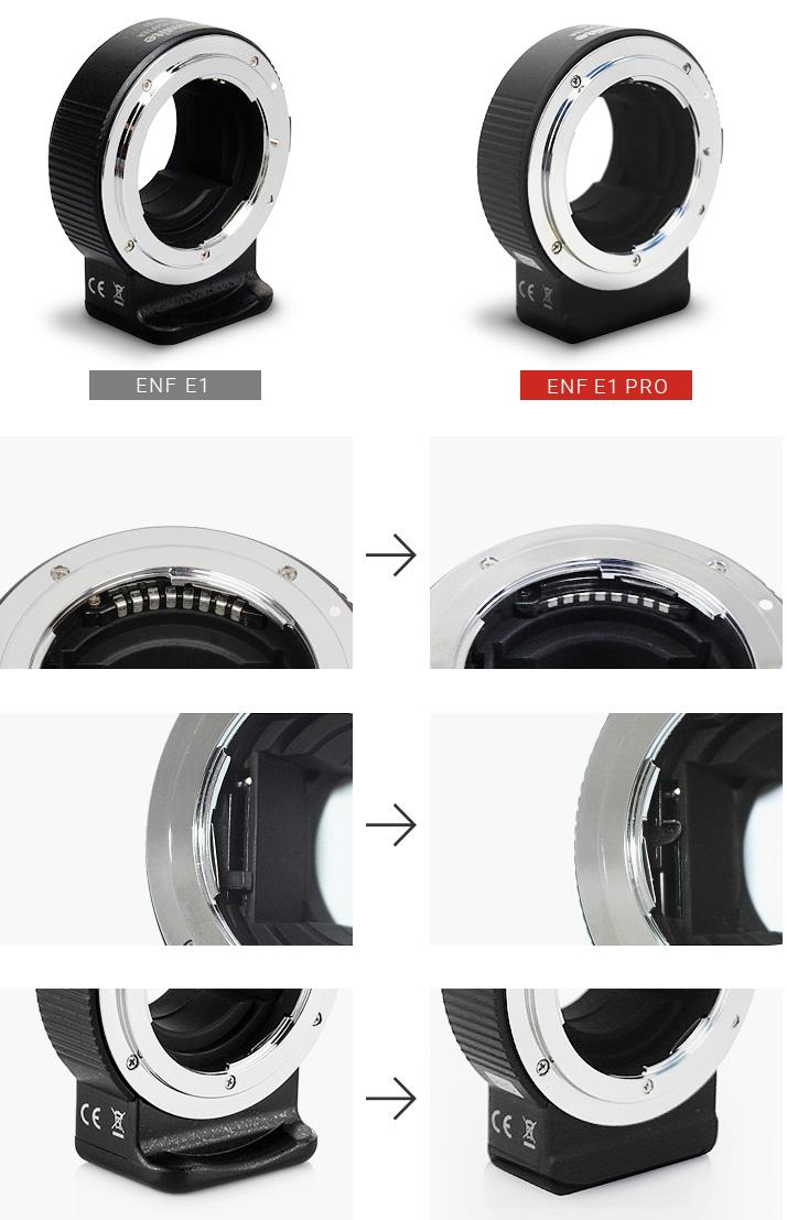 CM-ENF-E1とCM-ENF-E1 PRO比較画像
