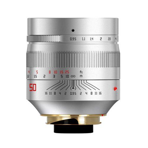 TTArtisan 50mm f/0.95 ASPH シルバー ライカM