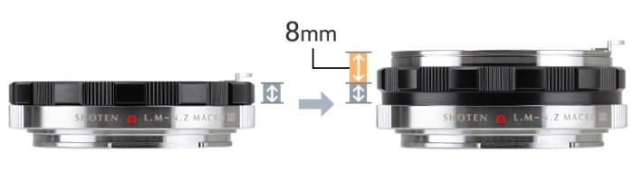 LM-NZ M(EX) ヘリコイド8mm