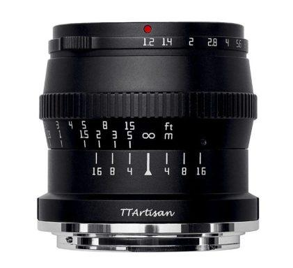 TTArtisan 50mm f/1.2 C Zマウント