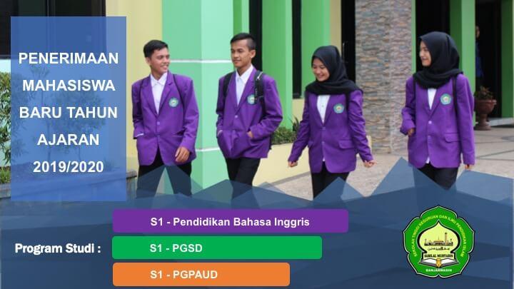Penerimaan Mahasiswa Baru Tahun Ajaran 2019 / 2020