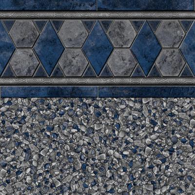 gray baden tile with gray brighton