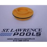 1 1/2 Winter Plug With O Ring (Yellow)
