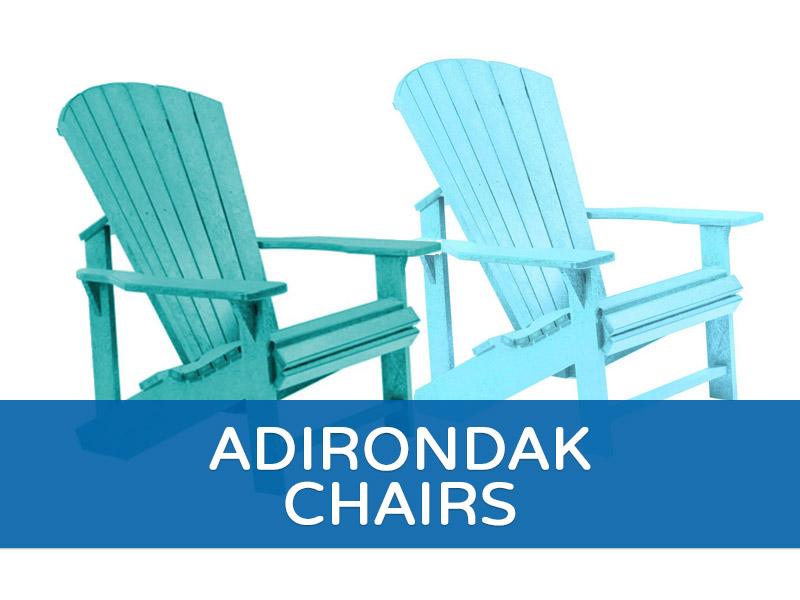 Adirondak Chairs - blue