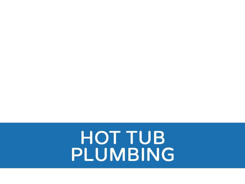 Hot Tub Plumbing