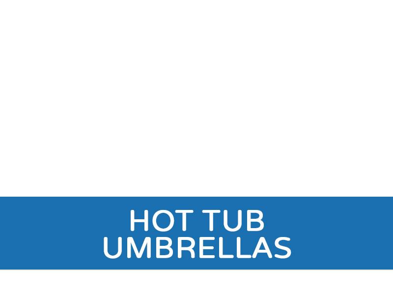 hot Tub Umbrellas